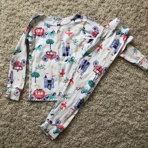 4t princess pajamas